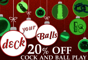 Shop 20% Off Cock & Ball Play Sex Toys