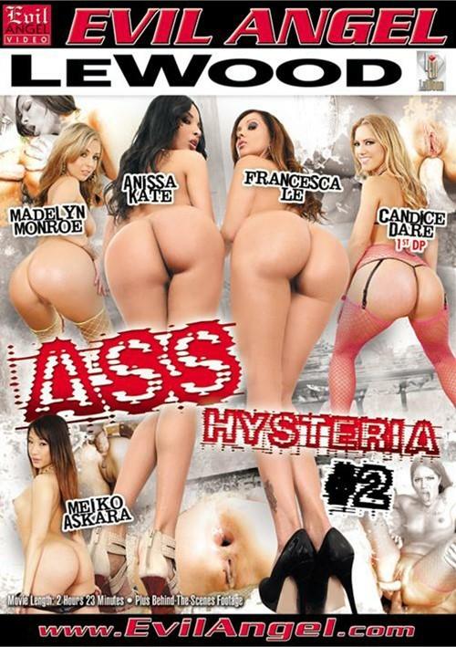 Истерия Задниц #2 / Ass Hysteria #2 (2014) DVDRip