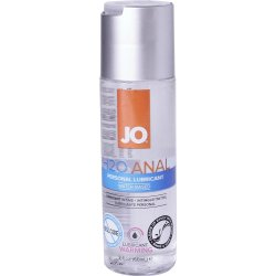 JO H2O Anal Warming Lube - 2.5 oz. Sex Toy