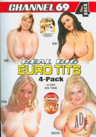 Real Big Euro Tits 4-Pack Porn Movie