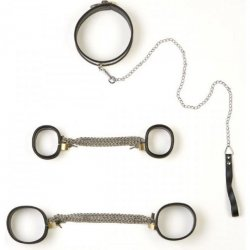 Rapture: 5 Piece Stainless Steel Bondage Set - Small Sex Toy