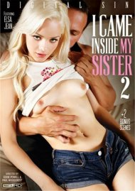 I Came Inside My Sister 2 DVD Image from Digital Sin.