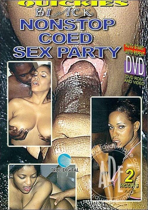Black Nonstop Coed Sex Party
