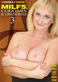MILFS, Cougars, & Grandmas 3 Porn Movie