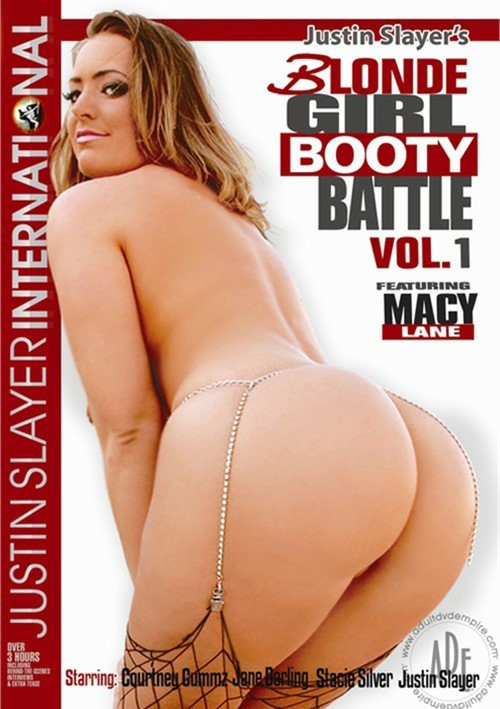 Blonde Girl Booty Battle Vol. 1