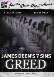 James Deen's 7 Sins: Greed DVD Image from Evil Angel.