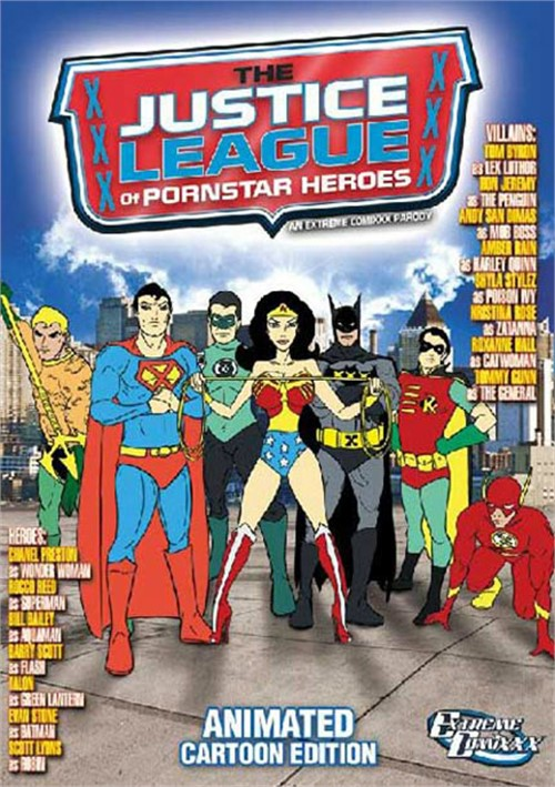 Justice League Of Pornstar Heroes: An Extreme Comixxx