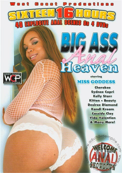 Big Ass Anal Heaven Compilation 4-Pack