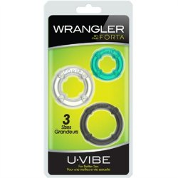 UVibe: Wrangler - Multicolor 3 Pack Sex Toy