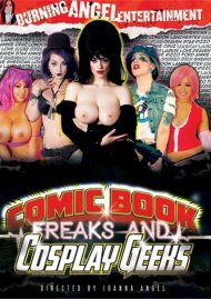 Comic Book Freaks & Cosplay Geeks Porn Video