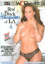 Real Black Housewives Of LA 4 DVD Image from West Coast Productions.