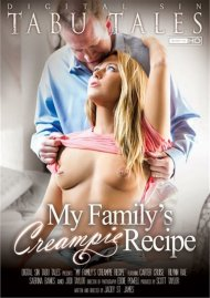 My Family's Creampie Recipe DVD Image from Digital Sin.