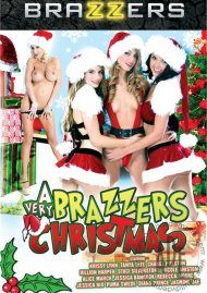 A Very Brazzers Christmas DVD Box Cover Image