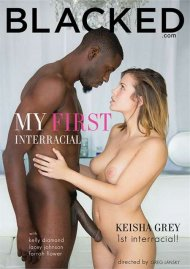 My First Interracial DVD Image from Blacked.