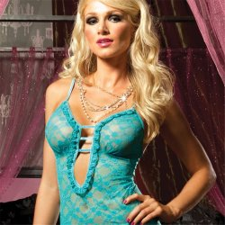 Sweetie Pie Chemise Set - Blue Sex Toy