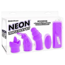 Neon Triple Play Kit - Purple image