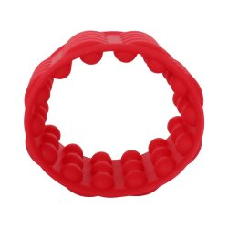 Adonis Silicone Reversible Silicone Enhancer - Red Sex Toy