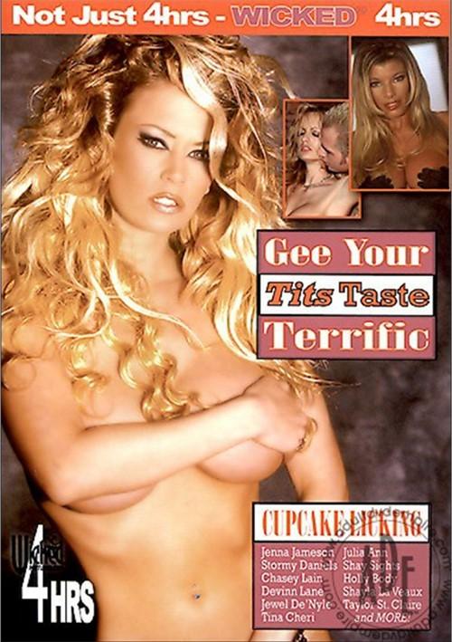 Gee Your Tits Taste Terrific