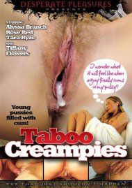 Taboo Creampies DVD Image from Desperate Pleasures.