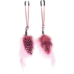 Feather Alligator Nipple Clamps image.