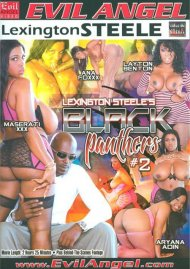 Lexington Steele's Black Panthers #2 DVD Image from Evil Angel.
