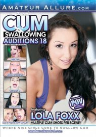 Cum Swallowing Auditions Vol. 18 Porn Movie
