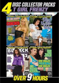 T Girl Frenzy 4 Disc Collector Packs Porn Movie