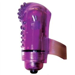 Screaming O - Fing O Glow - Purple Nubby Sex Toy