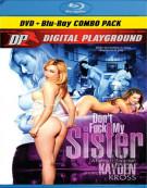 Dont Fuck My Sister (DVD + Blu-ray Combo) Blu-ray