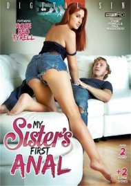 My Sister's First Anal DVD Image from Digital Sin.