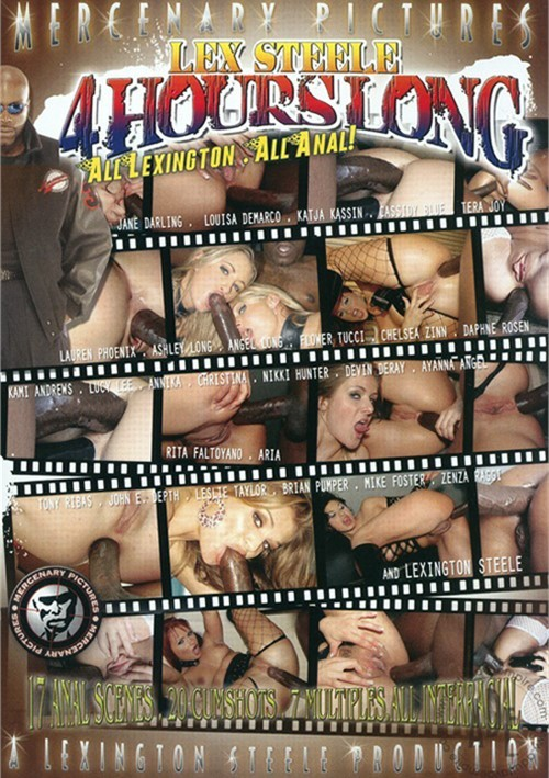 Lex Steele 4 Hours Long: All Lexington. All Anal! Vol. 1