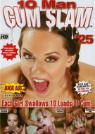 10 Man Cum Slam #25 Porn Movie