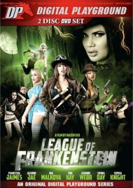 League Of Frankenstein DVD Image from Digital Playground.