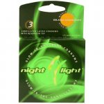 Night Light Glow Condoms - 3 Pack Sex Toy
