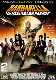 Barbarella XXX: An Axel Braun Parody DVD Image from Wicked Pictures.