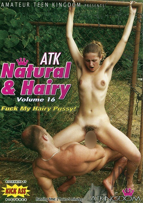 atk natural hairy dvd has back