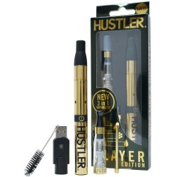 Hustler Vape Kit Gold image.