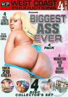Biggest Ass Ever 4 Pack Porn Movie