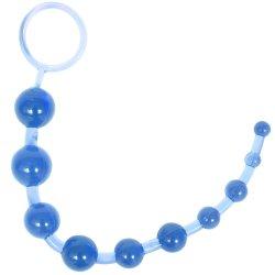 Sassy 10 Anal Beads - Blue Image