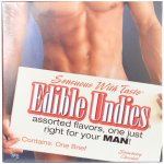 Sensuous With Taste Male Edible Undies - Strawberry And Chocolate Sex Toy