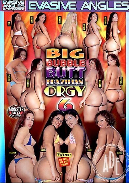 Big Bubble Butt Brazilian Orgy 6