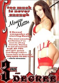 Too Much Is Never Enough: Monica Mattos Porn Video