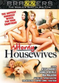 Horny Housewives DVD Image from Brazzers.