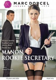 Manon, Rookie Secretary HD Porn Video Image from Marc Dorcel.