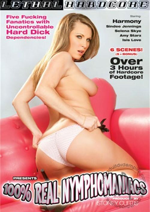 100% Real Nymphomaniacs DVD Porn Movie Image