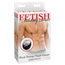 Fetish Fantasy Shock Therapy Nipple Clamps Sex Toy