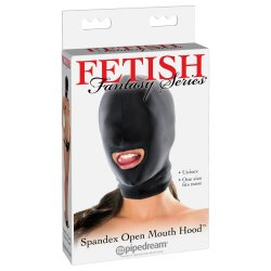 Fetish Fantasy Spandex Open Mouth Hood Sex Toy