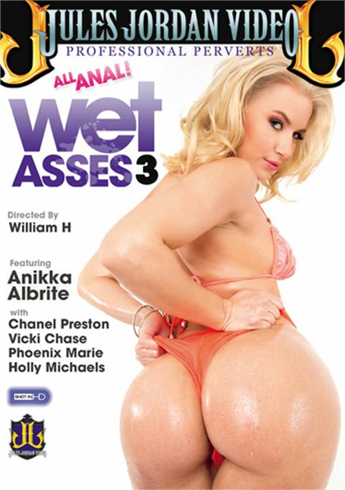 Wet Asses 3 DVD Porn Movie Image