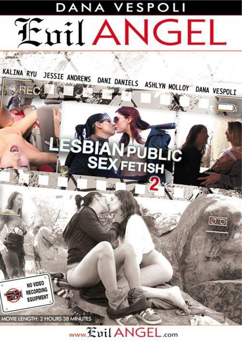 Лесбийский Публичный Фетишистский Секс #2 / Lesbian Public Sex Fetish #2 (2015) DVDRip