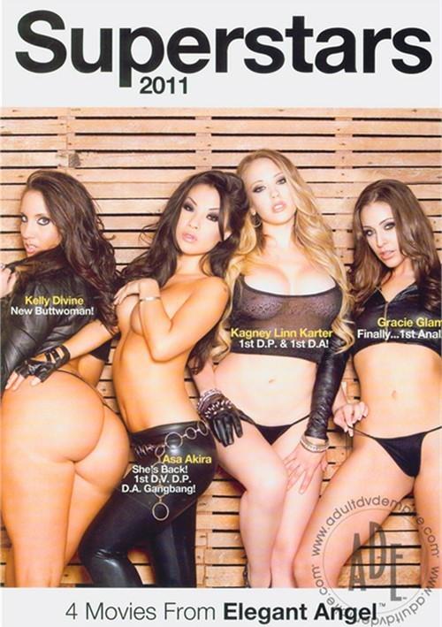 2011 Superstars 4 Pack DVD Porn Movie Image